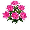 Искусственные цветы, Букет искусственный  фрезии, 43см