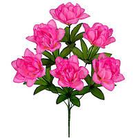 Искусственные цветы, Букет искусственный  фрезии, 43см, фото 1