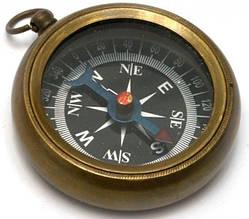 Компас  бронза Brass Locket Compass