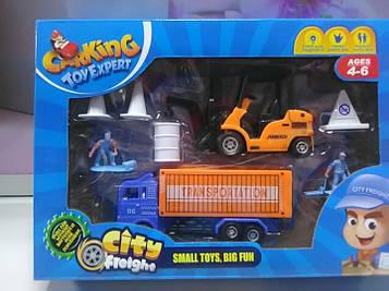 Детский игровой набор транспорт