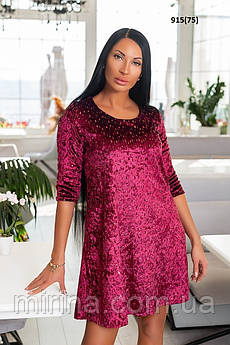 Жіноче плаття з пайеткой 915(75)