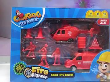Детский игровой набор пожарник