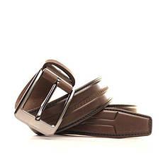 Ремень Lazar кожаный коричневый L35Y1W3 105-115 см, фото 3