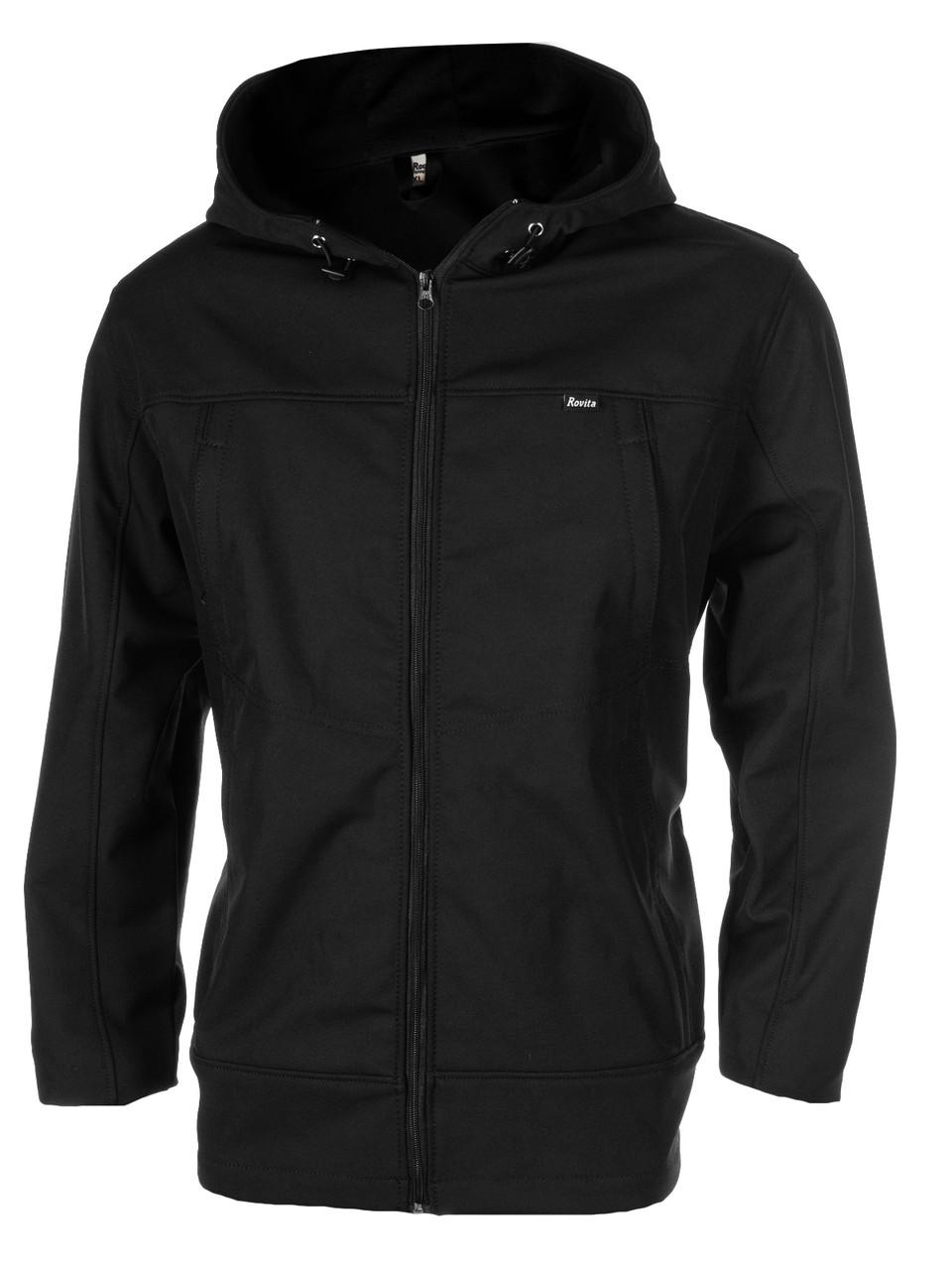 Куртка RFT Софтшелл черная р.XS