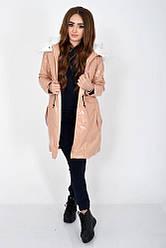 Куртка женская 103R061 цвет Пудровый