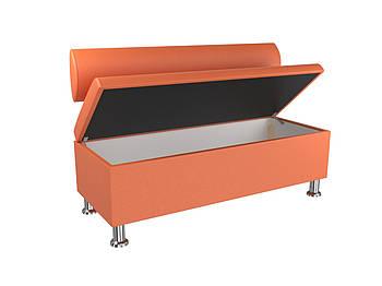 Диван BNB Флеш 1200x540x780 оранжевый.