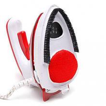 Отпариватель дорожный паровой утюг пароочиститель для одежды UKC 558-B  1000 Вт Красный