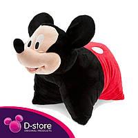 Плюшевая подушка - Микки Маус / Plush Pillow Mickey Mouse