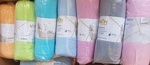 Простынь на резинке трикотаж евро размер 230*250 ( Турция)