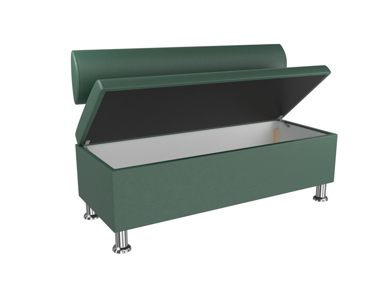 Диван BNB Флеш 1200x540x780 темно зеленый.