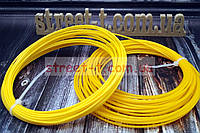 Пластик для 3д ручки 1.75 ММ цвет желтый от 1м ABS 3D