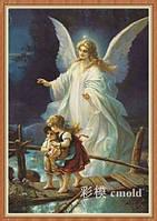 """Алмазная живопись """"Ангел хранитель и дети"""""""