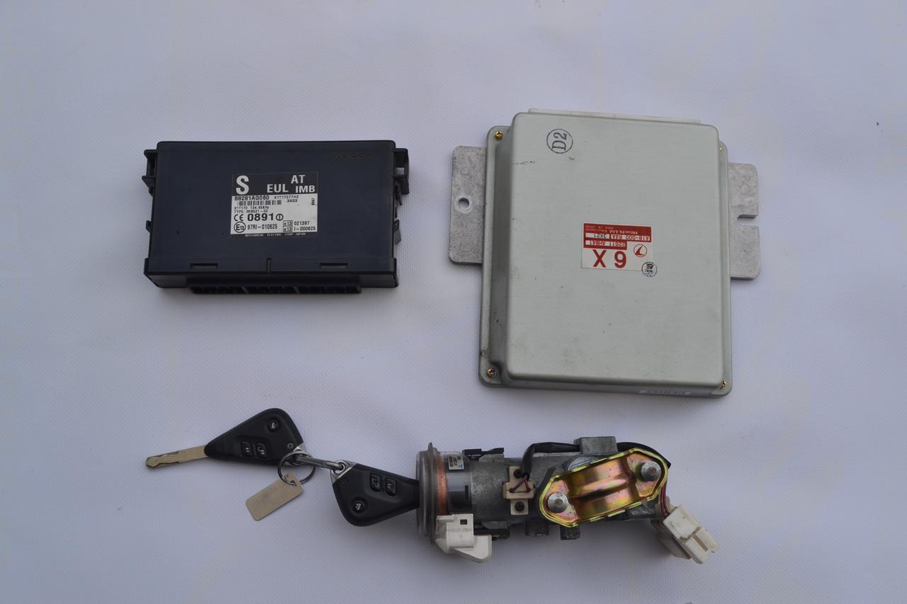 Блок управления (ЭБУ) двигателем комплект  АКПП Subaru Legacy Outback (B13) 2003-2009 2.0 16V