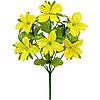 Букет орхидейки атлас с пышной зеленью, 32см