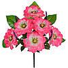 Букет искусственных цветов односторонний Графиня, 52см