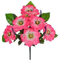 Букет искусственных цветов односторонний Графиня, 52см, фото 1