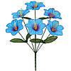 Букет цветов искусственных оптом мальвы, 35см