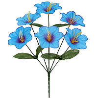 Букет цветов искусственных оптом мальвы, 35см, фото 1