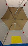 Автоматична намет зимова парасолька 4 місцева elit (спідниця 30 см ), фото 3