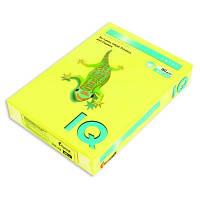 Бумага ксероксная цветная А4 160 г/м2  IQ Color интенсивный цвет LG46 ярко - желтая
