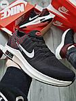 Чоловічі кросівки Nike Zoom (чорно-білі) 309PL, фото 3