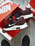 Чоловічі кросівки Nike Zoom (чорно-білі) 309PL, фото 7