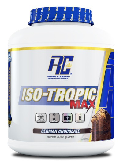 Протеїн Ronnie Coleman Iso-Tropic Max 1,5 kg. (ВАНІЛЬ)