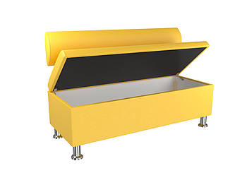 Диван BNB Флеш 1200x540x780 желтый.