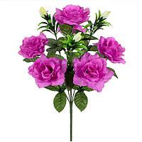 Букет искусственные розы с бутонами, 48см, фото 1
