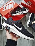 Мужские кроссовки Nike Zoom (черно-белые) 308PL, фото 3