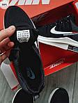 Чоловічі кросівки Nike Zoom (чорно-білі) 308PL, фото 2