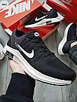 Чоловічі кросівки Nike Zoom (чорно-білі) 308PL, фото 5