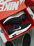 Чоловічі кросівки Nike Zoom (чорно-білі) 308PL, фото 6