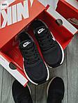 Чоловічі кросівки Nike Zoom (чорно-білі) 308PL, фото 7