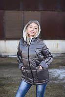 Женская куртка Лаковая 42-50