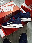Чоловічі кросівки Nike Zoom (синьо-білі) 307PL, фото 3
