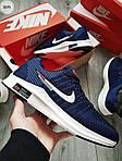 Чоловічі кросівки Nike Zoom (синьо-білі) 307PL, фото 6