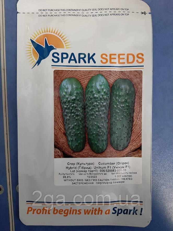 УНІКУМ F1 / UNIKUM F1 — партенокарпічний огірок, Lark Seeds , 1000 насіння