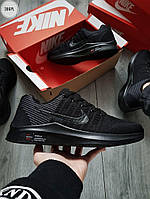 Мужские кроссовки Nike Zoom (черные) 306PL