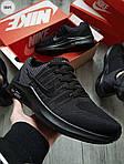 Мужские кроссовки Nike Zoom (черные) 306PL, фото 3
