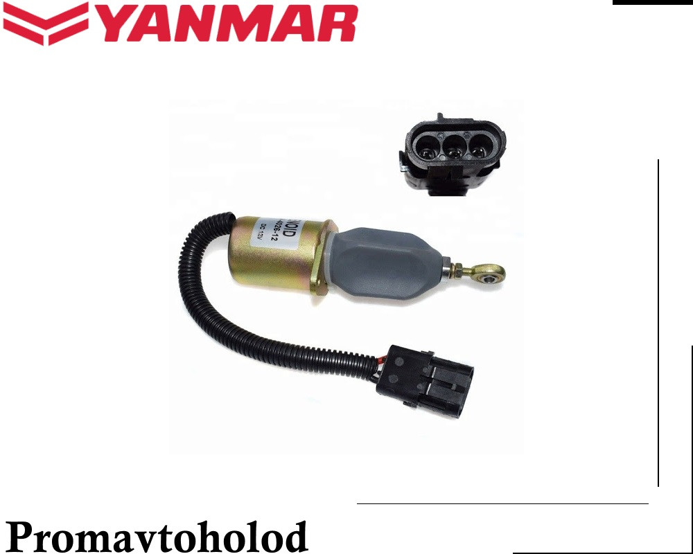 Соленоид Yanmar 4TNE98 /// 1753ES-24A3UC5B1S1