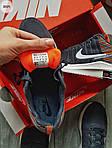 Чоловічі кросівки Nike Zoom (сірі) 305PL, фото 2