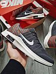 Чоловічі кросівки Nike Zoom (сірі) 305PL, фото 3