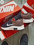 Чоловічі кросівки Nike Zoom (сірі) 305PL, фото 4