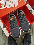Чоловічі кросівки Nike Zoom (сірі) 305PL, фото 6
