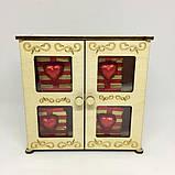 Деревянная коробка драгоценностей Шоколадный набор, фото 3