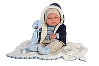 Кукла Llorens 73857 младенец Нико 38 см, фото 1