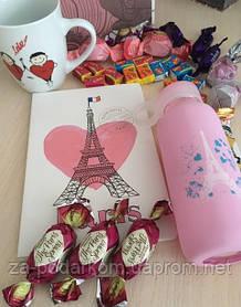 Недорогой подарок девушке набор Париж