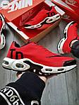 Мужские кроссовки Nike Air Max Tn (красно-белые) 304PL, фото 3