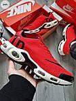 Мужские кроссовки Nike Air Max Tn (красно-белые) 304PL, фото 6